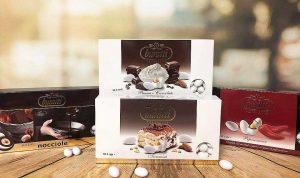Buratti Branded Boxed at Amore Mio Confetti and Accessories