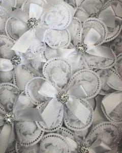 White Pizzo - Amore Mio Confetti and Accessories