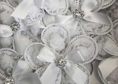White Pizzo - Amore Mio Confetti and Accessories